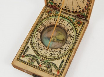 A Sixteenth Century Ivory Diptych Sundial Discovered in Deva Fortress