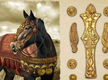 Horse bridle sets of the northern Black Sea region